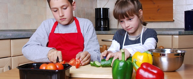 Children Cooking - websize